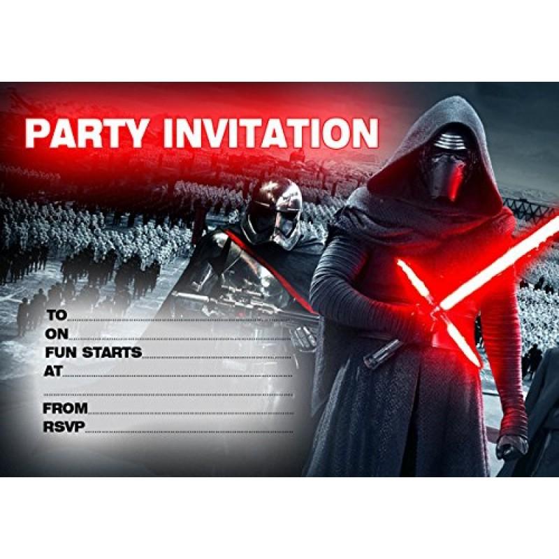 Auguri Matrimonio Star Wars : Star wars biglietti d invito per feste di compleanno