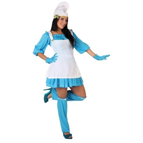 Atosa 05954 Costume da puffetta, M/L