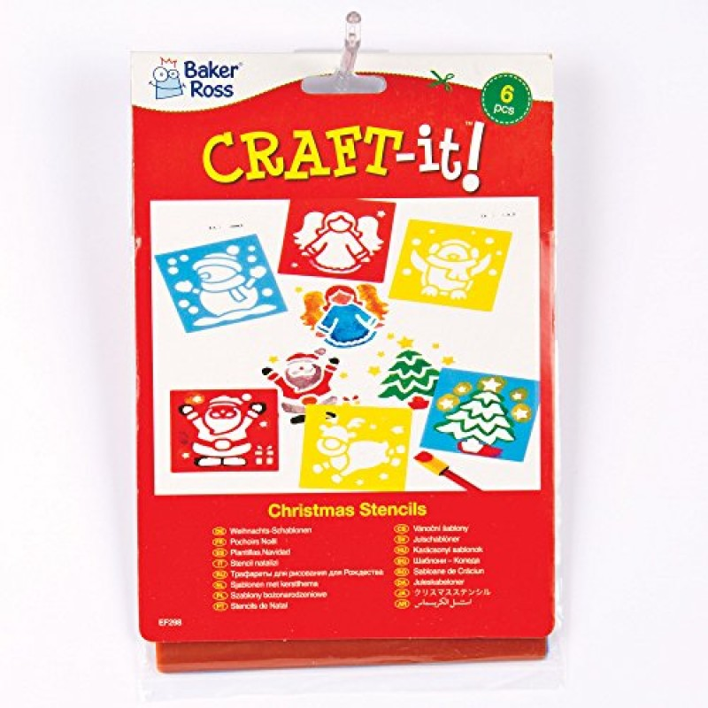 Stampini natalizi lavabili per bambini per creare - Decorazioni per camerette bambini fai da te ...