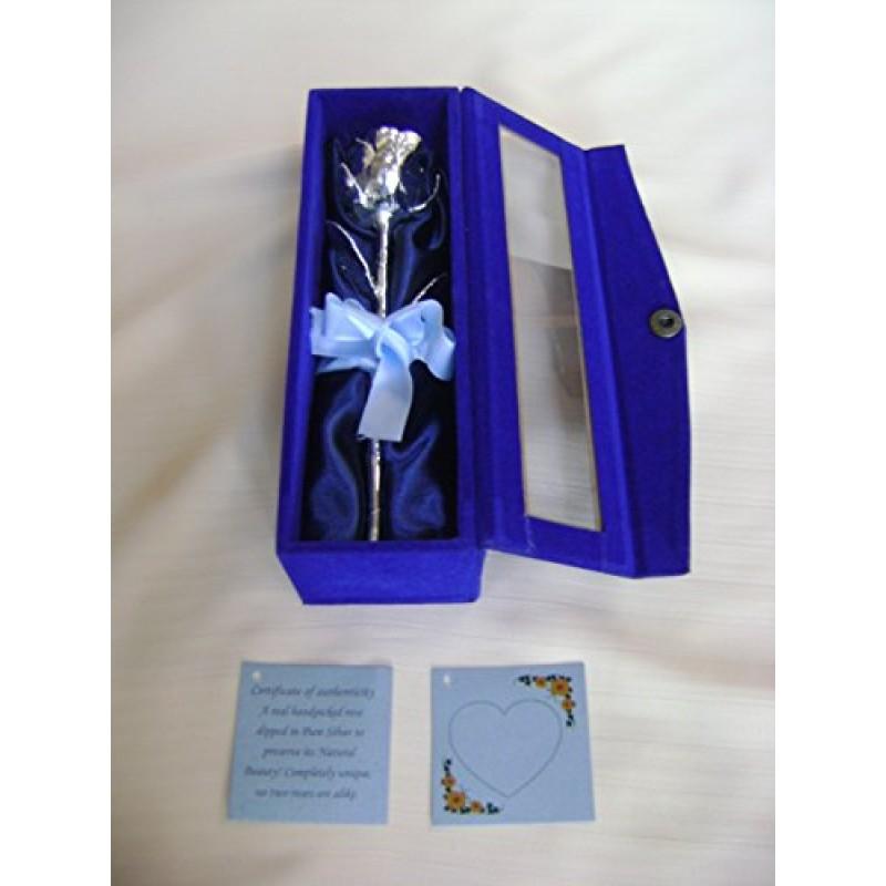 Eccezionale Anniversario matrimonio idea regalo 15,24 cm argento puro acciaio  DO85