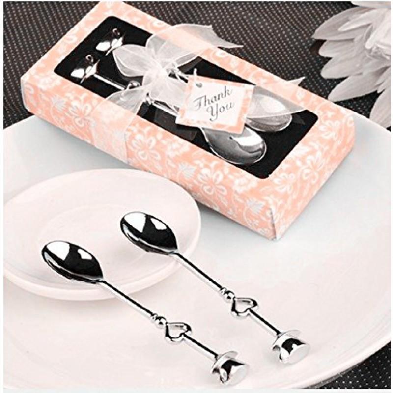 Finest bomboniera cucchiaio cucchiaino acciaio caff spoon for Luogo di nozze con cabine