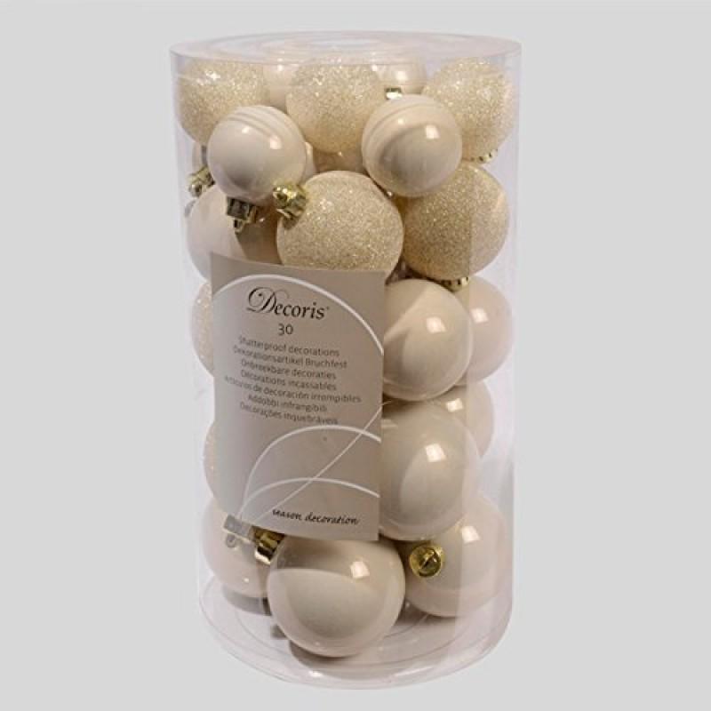 Decorazione natale palle palline sfere diam assortiti for Eminza natale