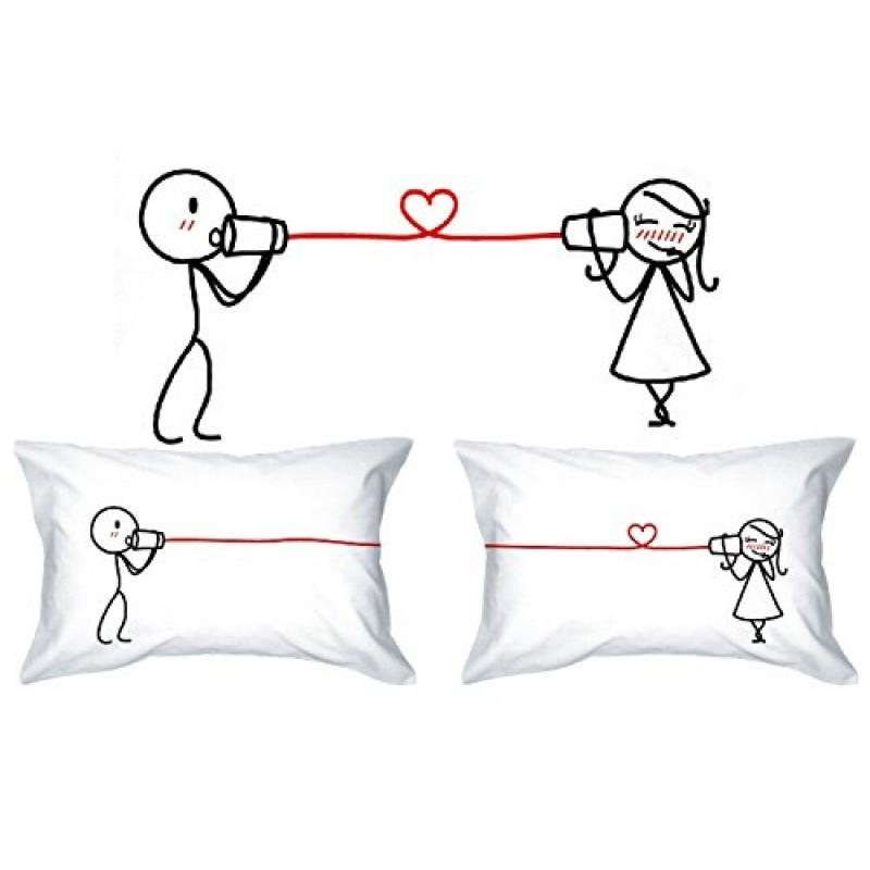Favori Touch - Federe copricuscino per lui e per lei, idea regalo per  GZ57