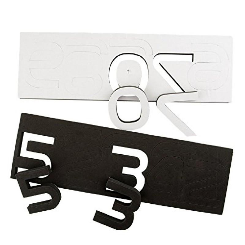 Lifeup orologio da parete splendido con numeri adesivi - Adesivi parete camera da letto ...
