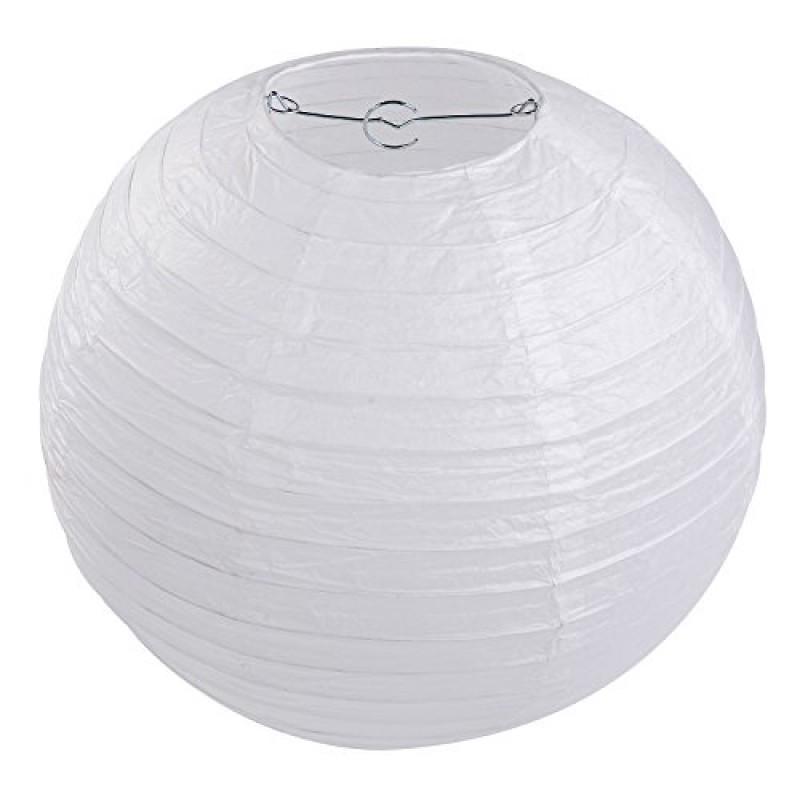 Lihao 10pcs rotonda lanterne di carta della lampada festa - Giochi di decorazione della casa ...
