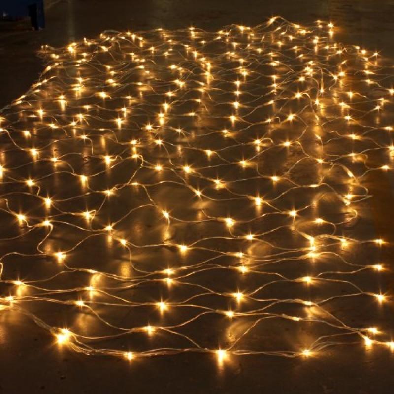 SOLMORE Catena Luminosa Tenda Luminosa Luci Natalizie 300 LED 4.2M X 1.6M  Impermeabile 220V Luce ...