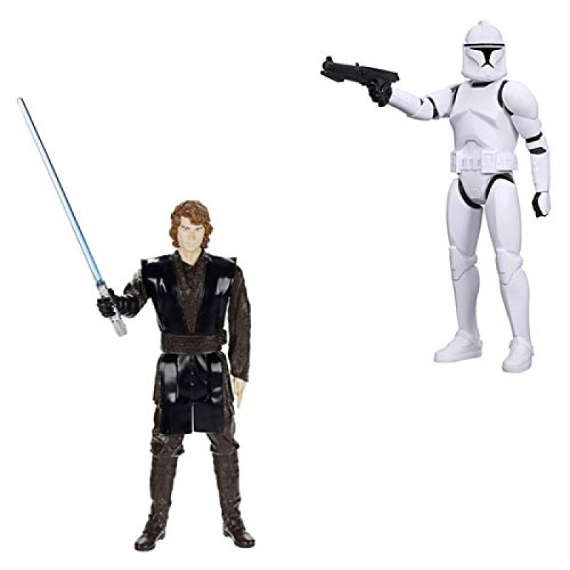 hasbro star wars action figure 30 cm figurine assortite. Black Bedroom Furniture Sets. Home Design Ideas