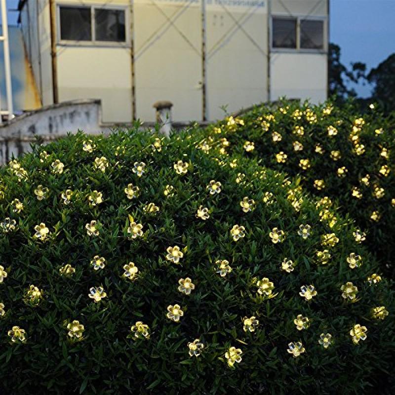 50s solari catene luminose stringa solare luci esterni - Renna natalizia luminosa per giardino ...