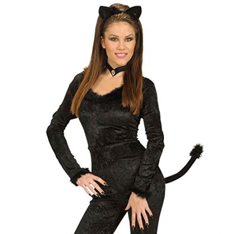 Set Accessori Da Gatto Cat Carnevale Catwoman
