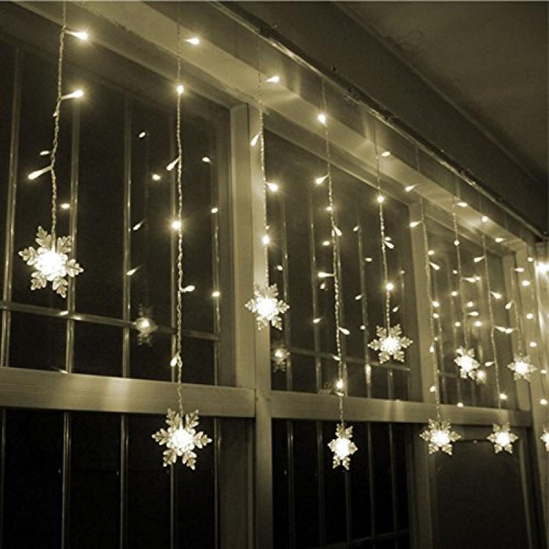 XGUO 3.5M 96 LED Luci Natalizie Catene Luminose Led Spina Di EU Luci  Decorative Per ...