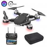 3T6B Drone con Telecamera, Videocamera / video 1080P HD FPV, 24 minuti di volo Quadricottero RC Portatile, Modalità Senza Testa a 4 assi Altitudine...