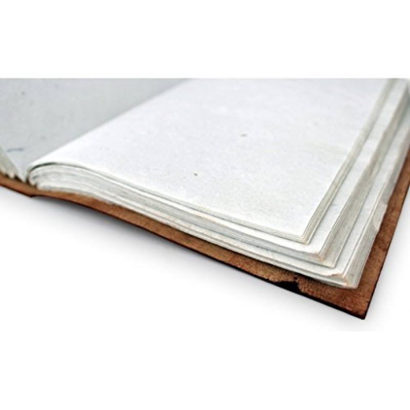 a p donovan notebook in busta realizzata in vera pelle con motivo orientale brown a6. Black Bedroom Furniture Sets. Home Design Ideas