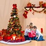 AerWo 48Inch Bianca Fiocco di Neve Pannello Esterno Albero di Natale 2018 Decorazione Natalizia Anno Nuovo