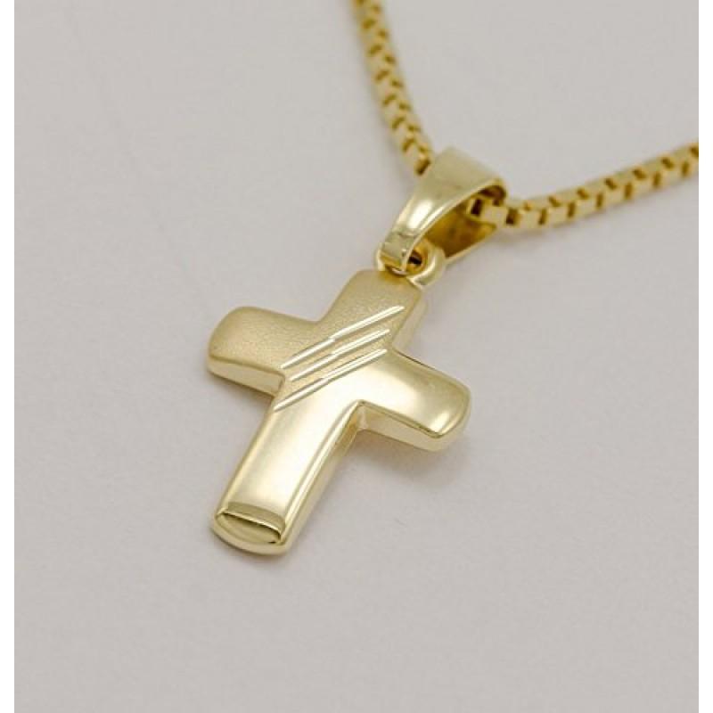Ass Collana In Oro 333 Per Battesimo E Comunione Con