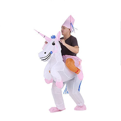 Anself Adulti Gonfiabile Costume per Halloween Partito del Vestito Operato