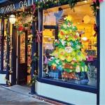 aovowog Feltro Albero Natale, 3.28ft Albero Natale, 50 luci a LED + 32 Piccoli Ornamenti della Staccabili + 1 Banner di Natale, Decorazioni per Par...