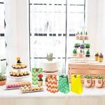 aovowog Sacchetti Regalo di Carta con Adesivi per Bambini Festa Compleanno Matrimonio e Feste Celebrazioni [45 Pack / 3 Style]