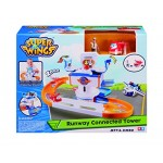 auld eytoys yw710812 Super Wings Runway Connected Tower Toy Child, Unisex