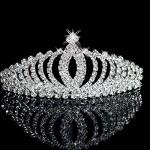 Awtlfe, corona e velo da sposa, tiara, per matrimonio
