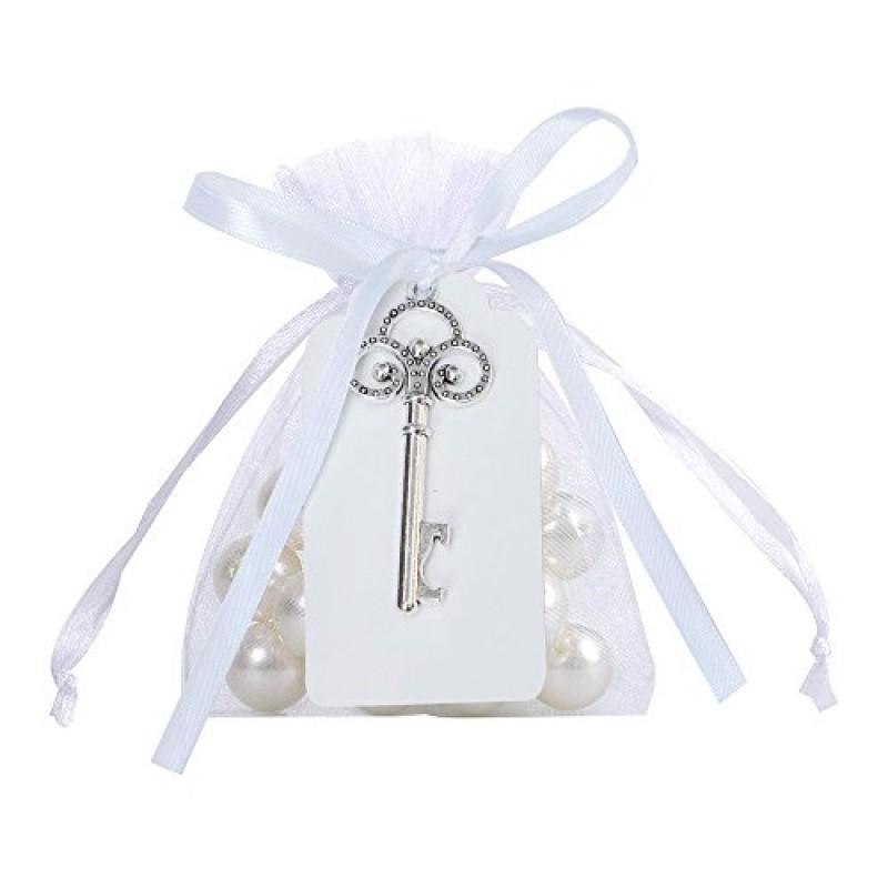 Matrimonio Rustico Bomboniere : Awtlife 50 pz rustico vintage chiave apribottiglie con carta tag e