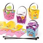 Baker Ross Scatola dolcetti pasquali (Confezione da 12) - Creazioni pasquali per Bambini, da assemblare e riempire con Uova di Pasqua