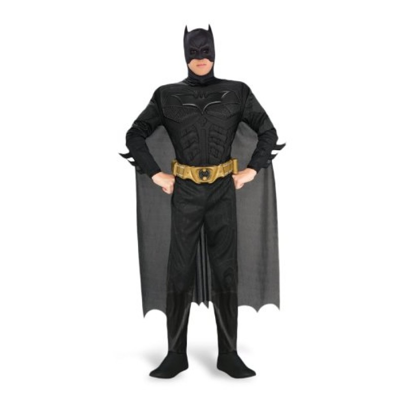 Costumi Halloween Adulti.Batman Costume Per Adulti Deluxe Carnevale E Travestimenti Xl