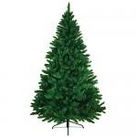 BB Sport Albero di Natale Realistico 210 cm Verde Medio Abete Natale Artificiale