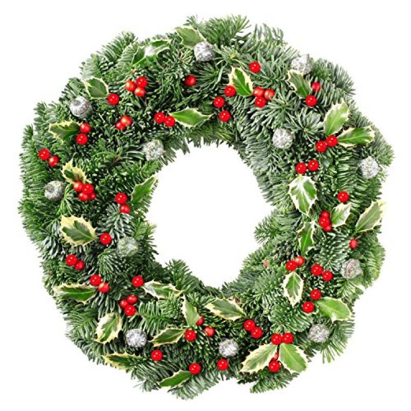 Lifreer 200 mini bacche rosse di Natale artificiali di agrifoglio bacche di frutta finte per decorazioni per albero di Natale fai da te ghirlanda di fiori
