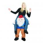 Bodysocks® Costume da Gnomo a Cavalluccio (Carry Me) per Adulti