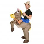 Bodysocks® Costume Gonfiabile da Cowboy per Adulti
