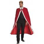 Boland 36101 - Mantello Reale Deluxe, Rosso, 130 cm