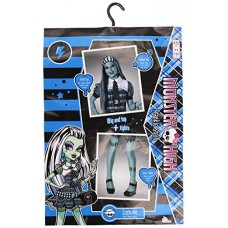 Costume Monster High: Frankie Stein con Top Parrucca e Collant