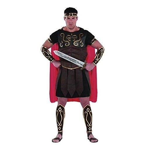 Christy's - Costume di Carnevale da centurione, per adulti, taglia unica