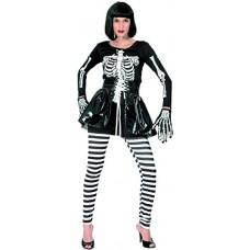 Ciao - Lady Scheletro Costume Adulto