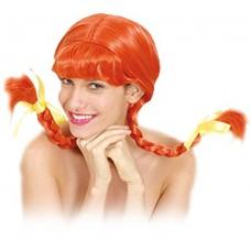 Ciao - Parrucca Donna con Trecce, Rossa
