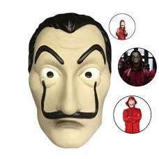 Casa Di Carta Salvador Dalì, Maschera Di PVC Costume Maschera Di Halloween Dali, Per Halloween Festa Di Natale Masquerade Bar Decorazione Festival,...