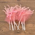 YNuth 10pz Topper Per Torte Forma di Ballerina Bella Celebrazione Compleanno Nozze Decorazione per Bambini Ragazza