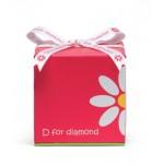 D for diamond-Collana in argento Sterling, per bambini, Children's-Braccialetto per battesimo bambino