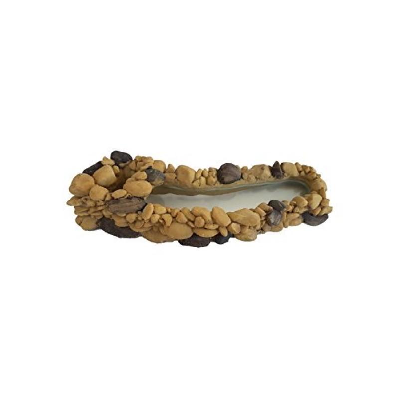 Laghetto ornamentale decoro per aeratore acquario dolce for Laghetto resina