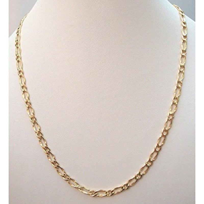 economico per lo sconto 2b8d8 9e2bd Damiata Gioielli - Collana girocollo battesimo uomo a catena oro giallo 18  kt carati