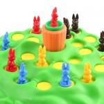 deAO Corsa di Coniglio Saltellante Tana Divertente Gioco di Carte di Abilità per Bambini Gioco di società per la Famiglia Giocattolo per Ragazzi e ...