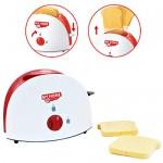 deAO Set di Utensili Elettrodomestici da Cucina per Bambini Accessori da Cucina Giocattolo Include Tostapane, Frullatore e Battitore