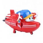 Dilwe Transform Toy Robot, Super Wings Robot Aeroplano Animazione Action Figure Giocattolo Aereo per Bambini