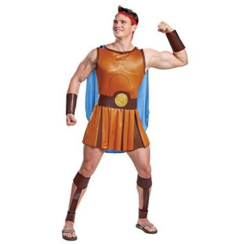Hercules Disney Adult Hercules Fancy Dress Costume Large/X-Large
