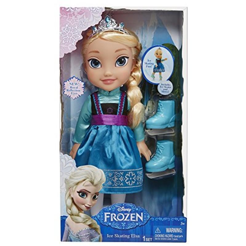 Disney Frozen Dejk31011 Bambola Di Elsa Con Pattini Da