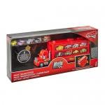 Disney Cars Mack Trasportatore per Cars Mini, Contiene 5 Macchinine Mini, Giocattolo per Bambini 3+ Anni, FRP09