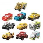 Disney Cars Mini, Assortimento con 10 Macchinine, i Modelli possono Variare, Giocattolo per Bambini 3+ Anni, GKG09