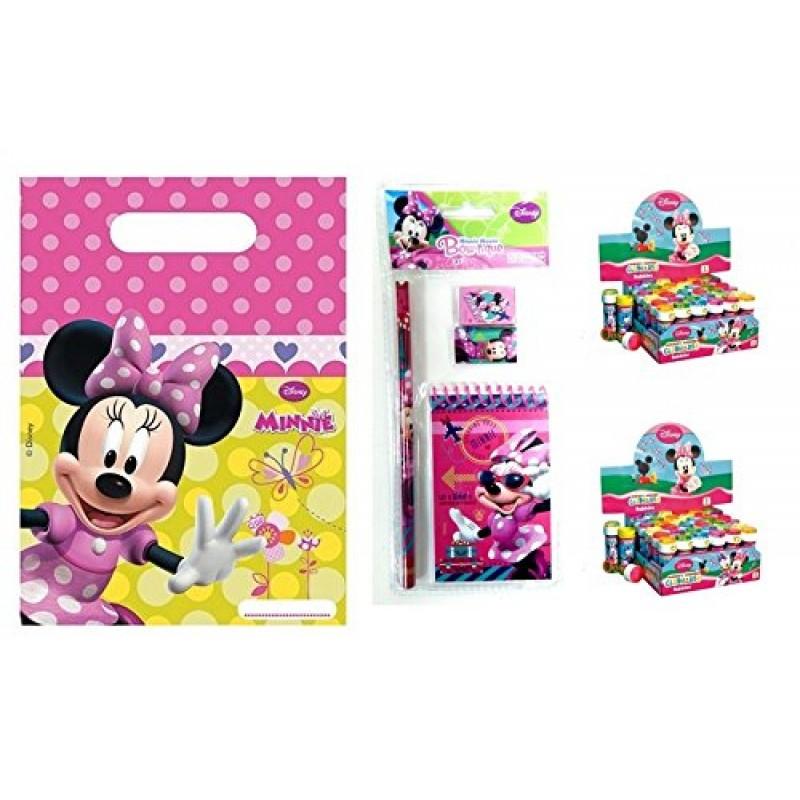 Irpot Kit1 Gadget Regalini Per Festa Bambini Minnie Bowtique Disney