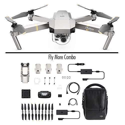 DJI Mavic Pro Platinum Fly More Combo (Versione EU) - Drone Quadricottero, Rumorosità 4 dB, Durata Batteria in Volo 30 Minuti, Radiocomando e Video...