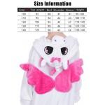 Dolamen Bambini Unisex Kigurumi Pigiama Onesie, Ragazza Ragazzo Anime Cosplay Halloween Natale Party Costume Attrezzatura Sleepwear (110-120CM (435...